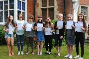Exam results GCSE 16
